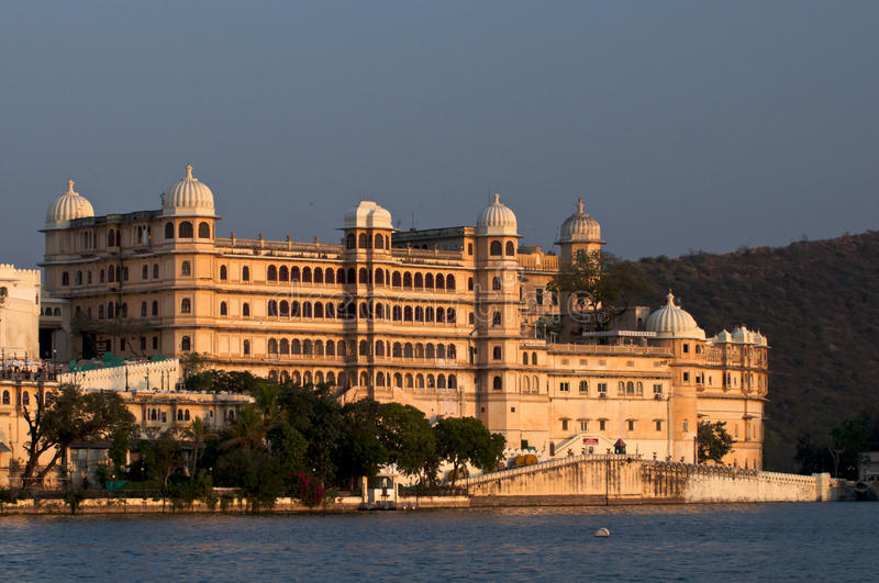 Palace.Udaipur.India. stock photo