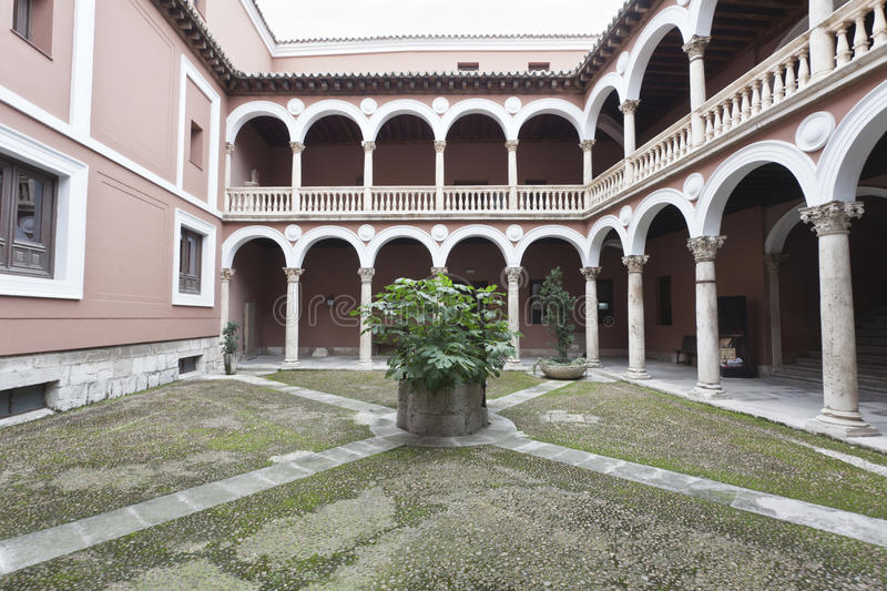 Palace In Valladolid Stock Photography