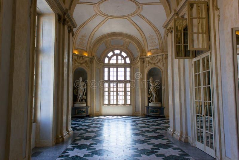 Palace of Venaria, Turin royalty free stock image