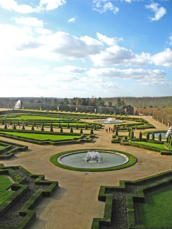 Palace of Versailles 10 stock photo