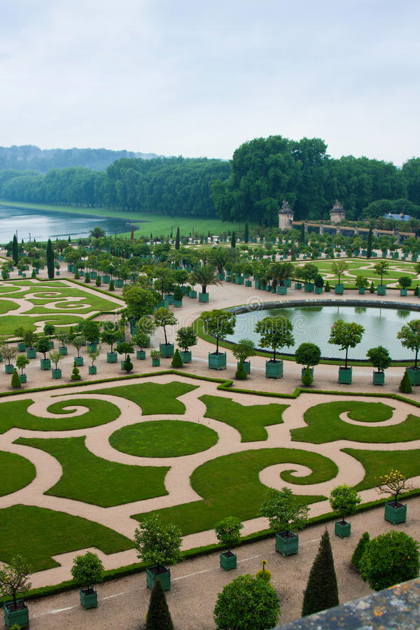 Palace Versailles in France royalty free stock photos