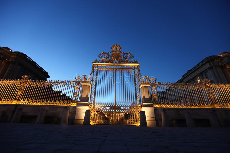 Palace of Versailles in Paris, France royalty free stock photo