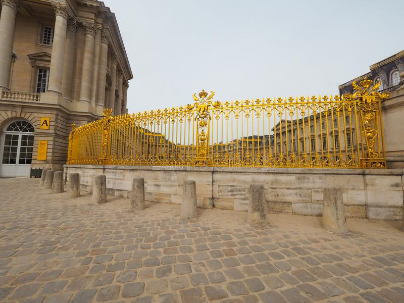 Palace of Versailles World Heritage of France Many tourists want to visit once. Chateau trianon royal paris hall versalles travel architecture culture europe stock images