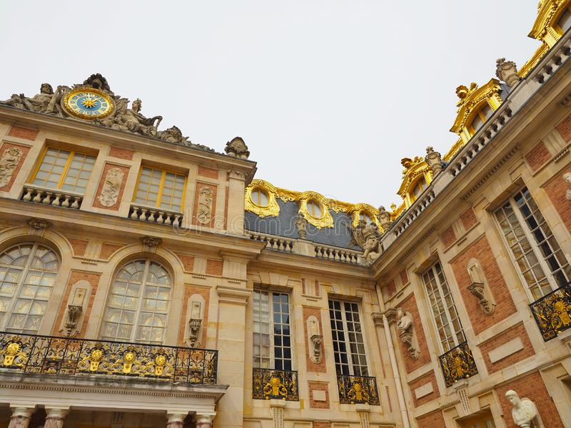 Palace of Versailles World Heritage of France Many tourists want to visit once. Chateau trianon royal paris hall versalles travel architecture culture europe stock photos