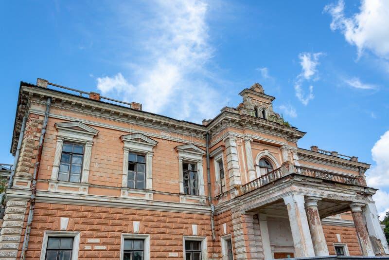 Palace of Leszczynski, Sumy region. stock photos