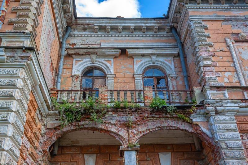 Palace of Leszczynski, Sumy region. stock photography