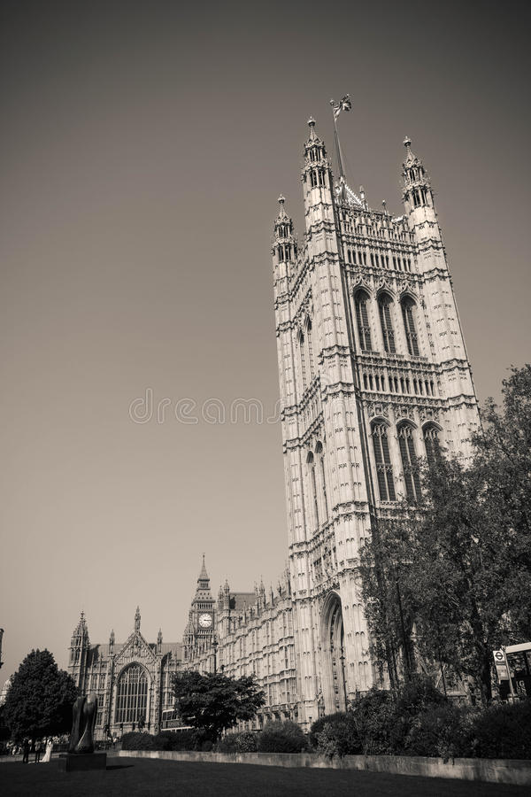 Palace of Westminster, Big Ben in London, United Kingdom royalty free stock photography