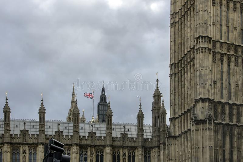 The Palace of Westminster. London, England, UK. royalty free stock photography