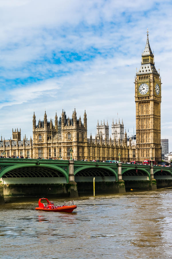 The Palace of Westminster, London royalty free stock photos