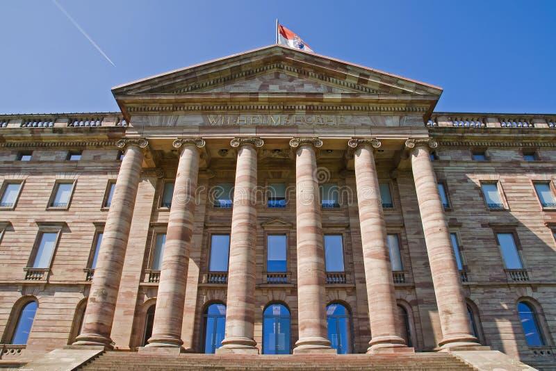 Palace Wilhelmshoehe in Kassel royalty free stock photo