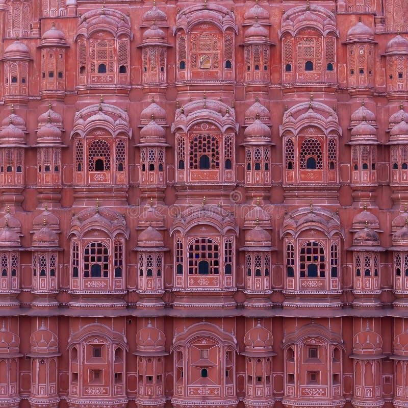 Palace of Winds, Hawa Mahal. Hawa Mahal also known as Palace of Winds in Jaipur, Rajasthan, India stock photo