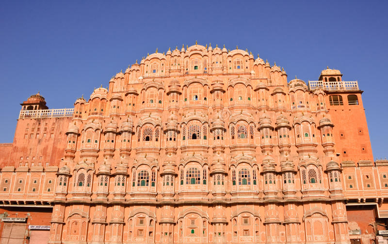 Download Palace Of The Winds (Hawa Mahal) In Jaipur, India Stock Photo - Image: 21699128