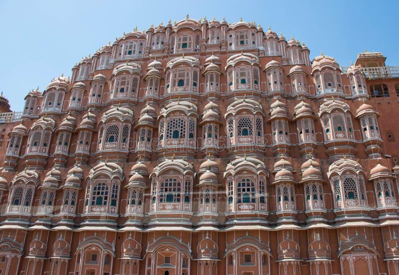 Palace of the Winds. The Palace of the Winds in Jaipur, India royalty free stock image