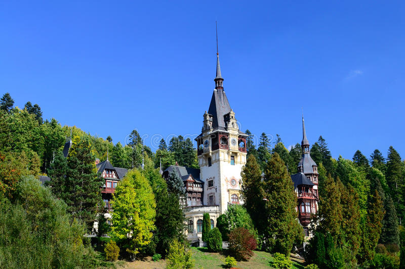Download Palace In The Woods stock photo. Image of burnt, green - 21500686
