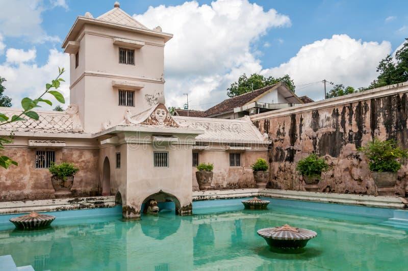 Palace in Yogyakarta royalty free stock images