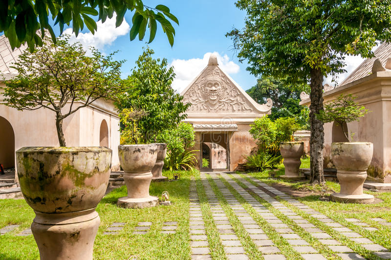 Palace In Yogyakarta Royalty Free Stock Image