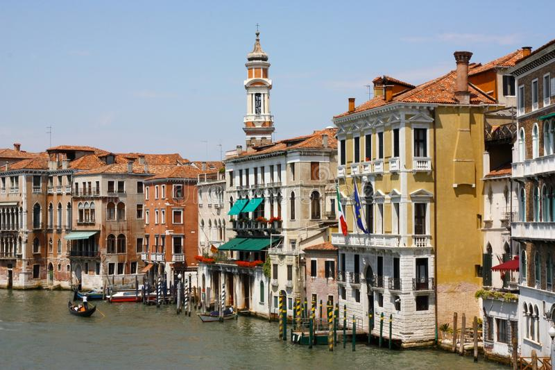 Download Palaces In The Canal Grande, Venice, Italy Royalty Free Stock Photos - Image: 11035858