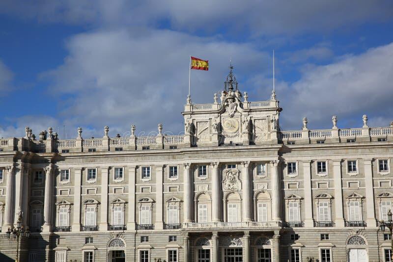 Palacio实际de马德里 库存图片