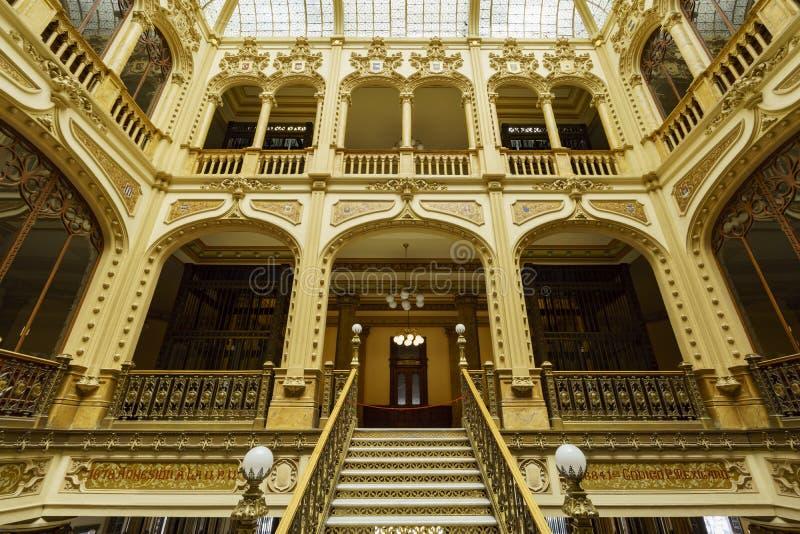 Palacio ταχυδρομικό στοκ εικόνες