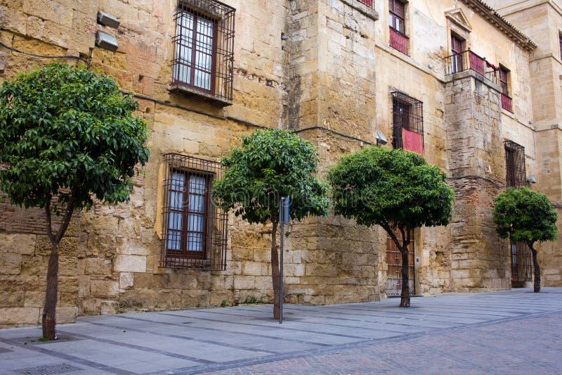 Palacio епископское в Cordoba стоковые фотографии rf