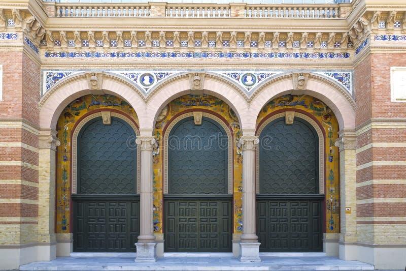 palacio Испания velazquez de madrid стоковое изображение rf