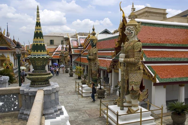 Palacio 4 de Bangkok imagenes de archivo