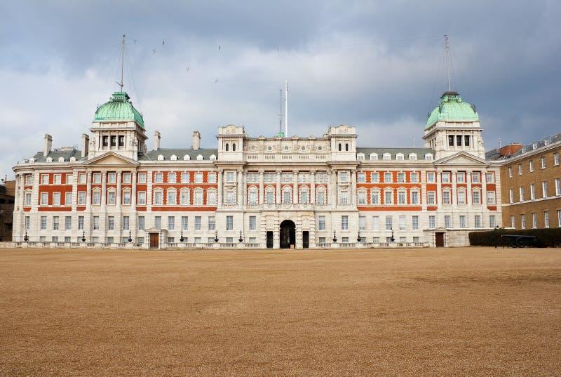 Palacio almiralty viejo en Londres imagenes de archivo