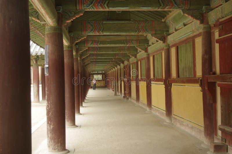 Palacio antiguo coreano fotografía de archivo libre de regalías