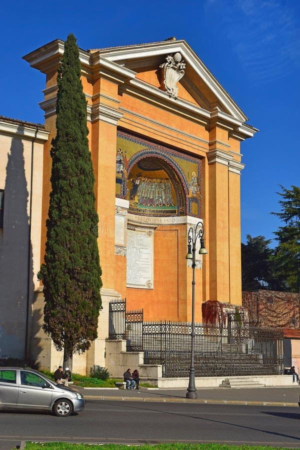 Palacio antiguo de Lateran, Roma, Italia fotografía de archivo