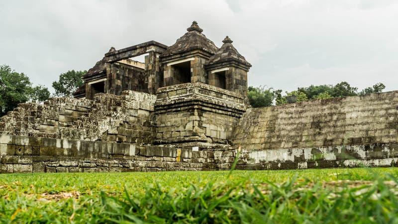 Palacio antiguo de Ratu Boko, Yogyakarta fotografía de archivo