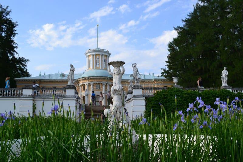 Palacio Arkhangelskoye imagenes de archivo