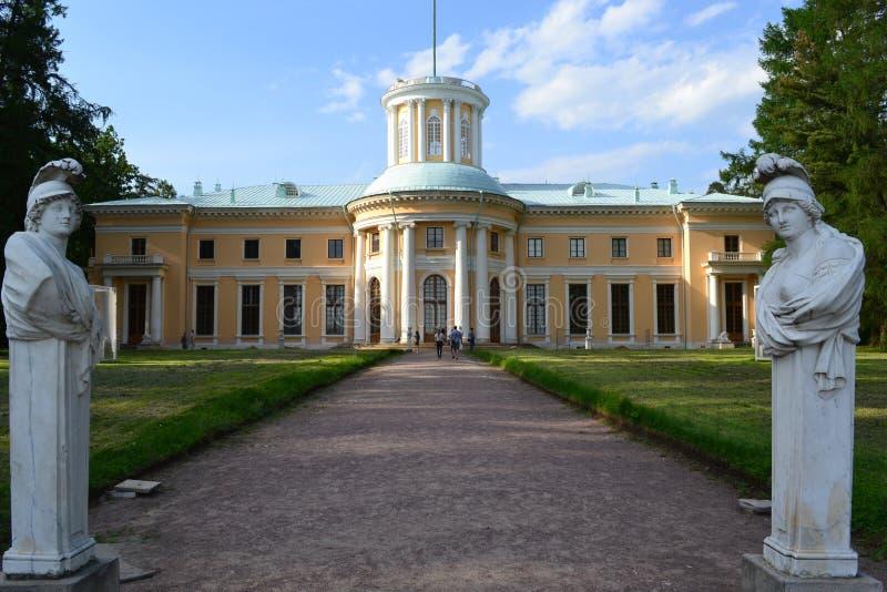 Palacio Arkhangelskoye imágenes de archivo libres de regalías
