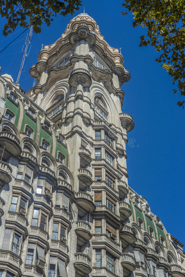Palacio Barolo στο Μπουένος Άιρες, Αργεντινή. στοκ εικόνες