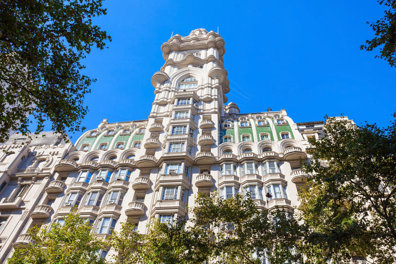 Palacio Barolo, Buenos Aires imagem de stock royalty free