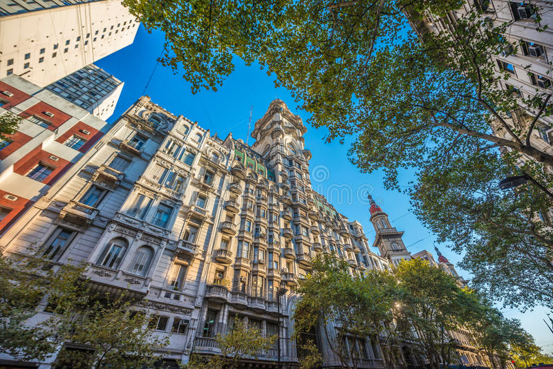 Palacio Barolo em Buenos Aires, Argentina fotos de stock