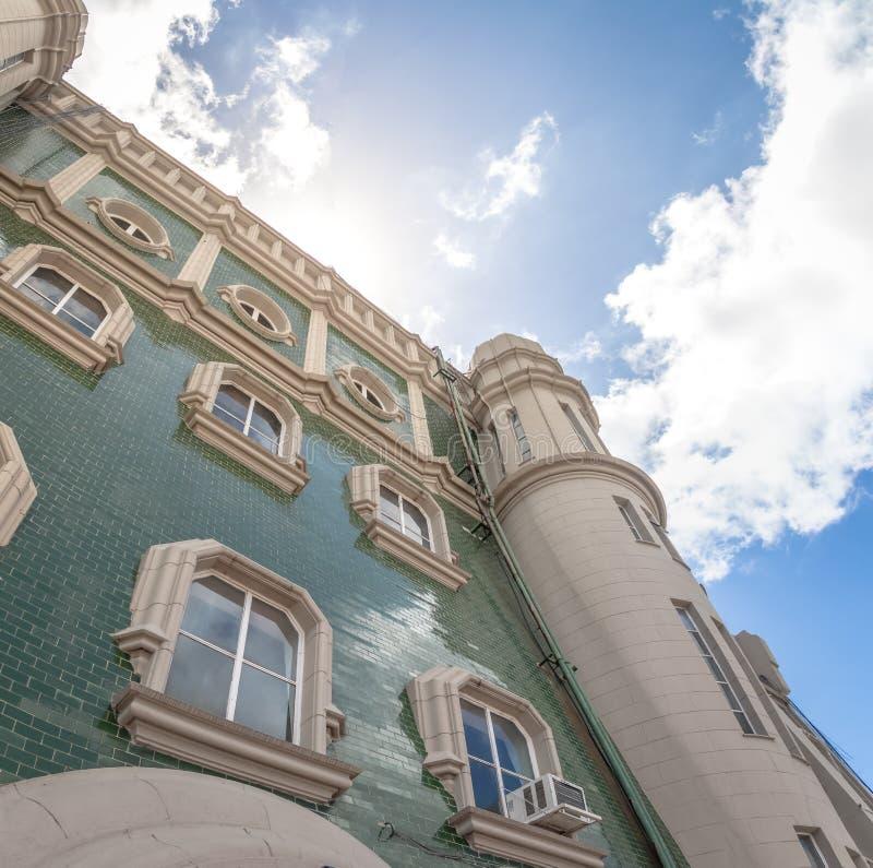 Barolo Palace Terrace facade - Buenos Aires, Argentina stock photo