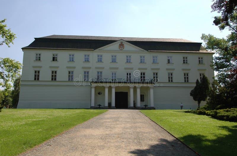 Palacio blanco foto de archivo