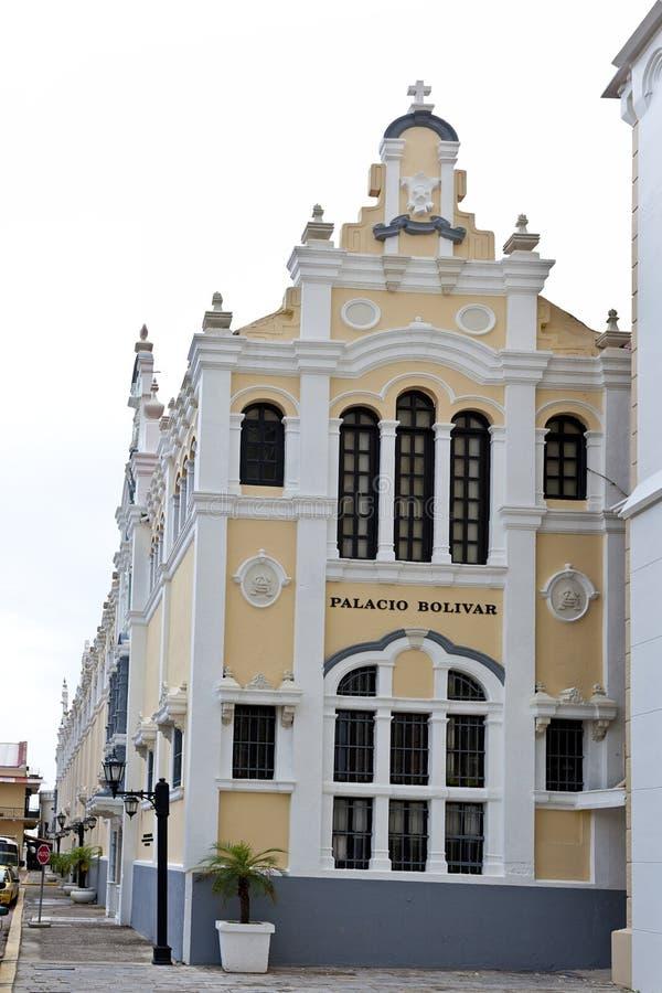 Palacio Bolivar en Casco Viejo en ciudad de Panamá imagen de archivo