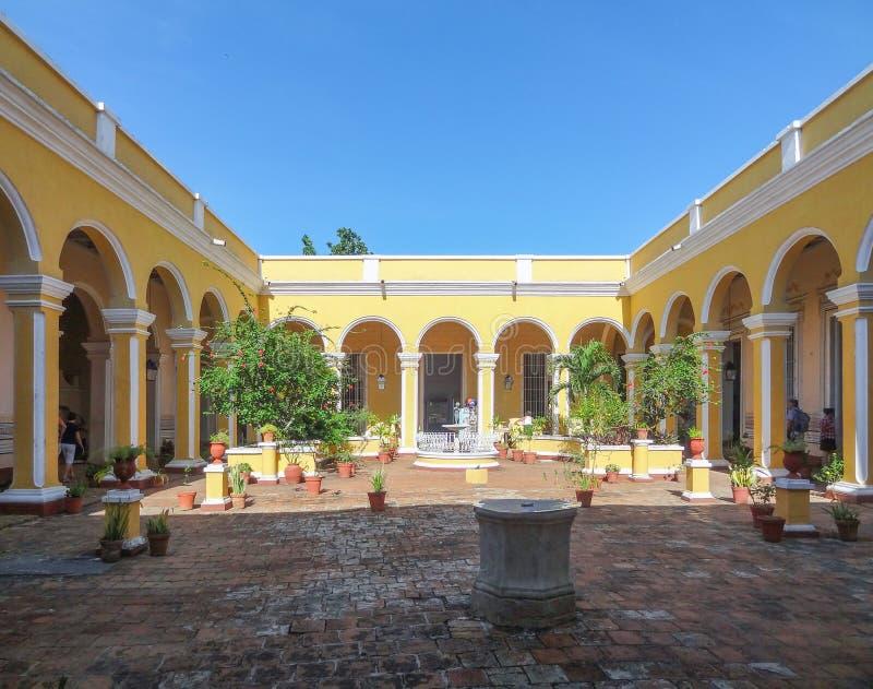 Palacio Cantero in Trinidad in Cuba fotografia stock libera da diritti
