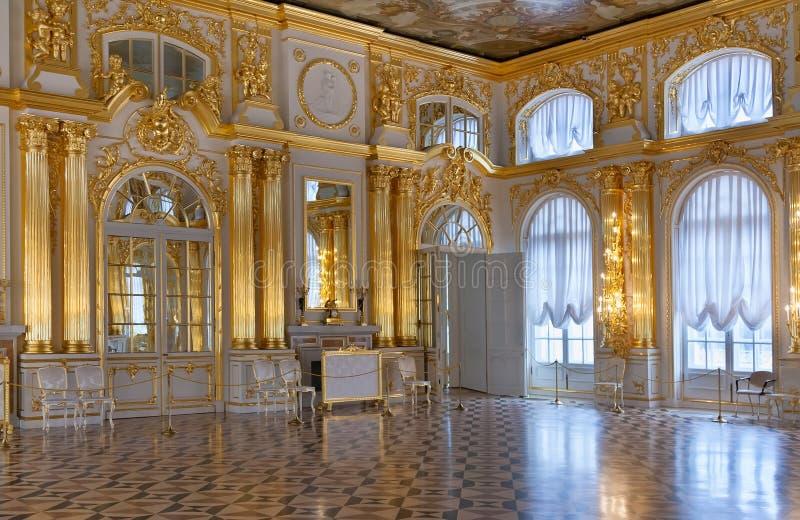 Palacio central del salón de baile fotos de archivo libres de regalías