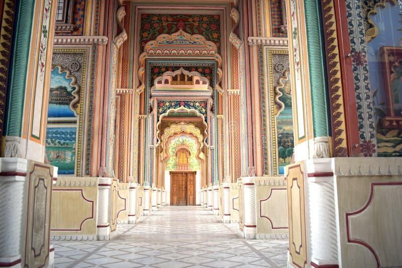 Palacio colorido imagen de archivo