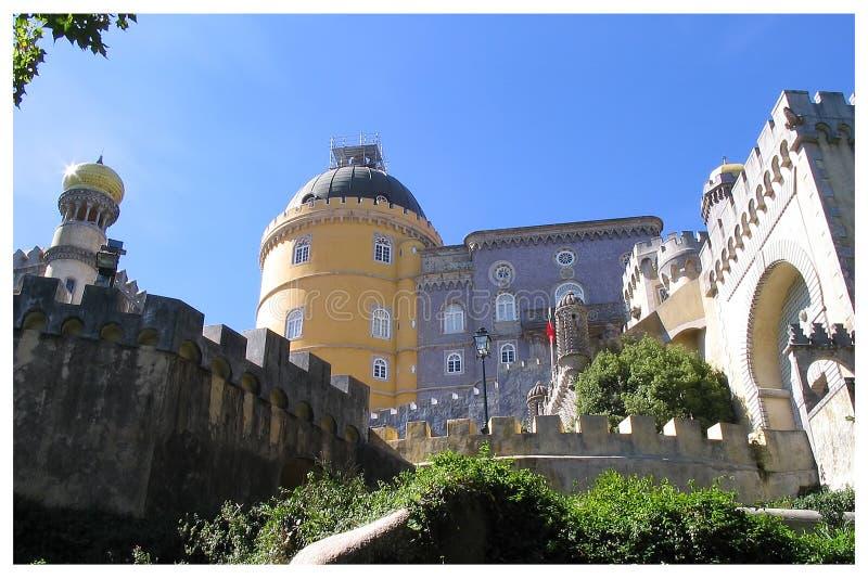 Palacio da Pena - Sintra - Portogallo fotografia stock