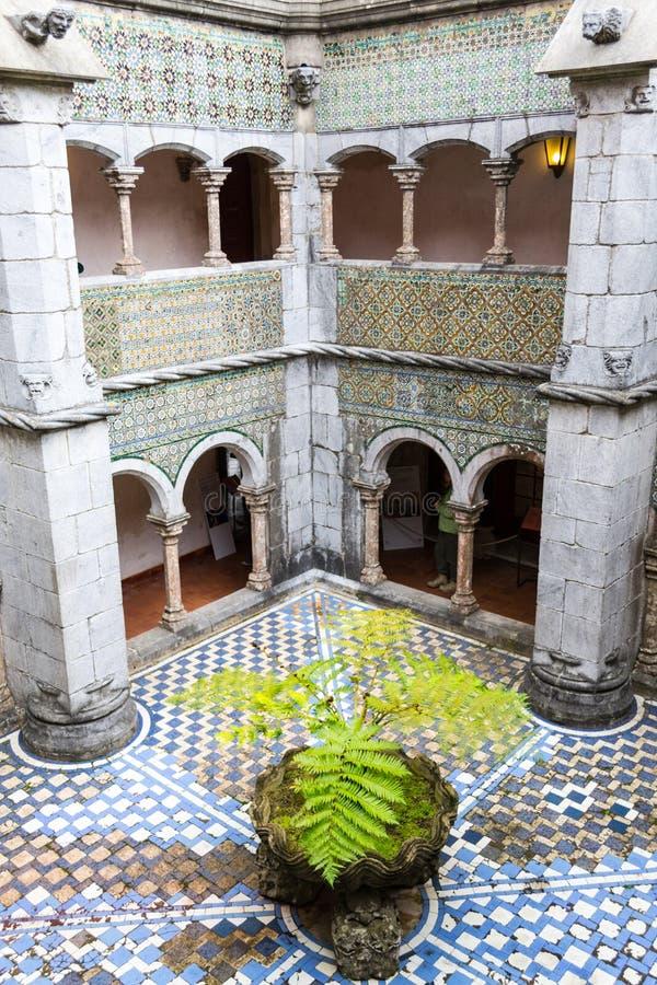 Palacio DA Pena in Sintra (Portugal) royalty-vrije stock afbeelding