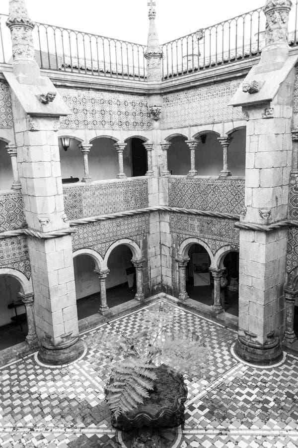 Palacio DA Pena in Sintra (Portugal) royalty-vrije stock fotografie