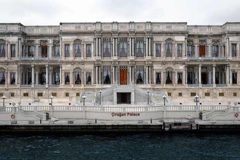 Palacio de ıraÄŸan del ‡ de à fotografía de archivo libre de regalías