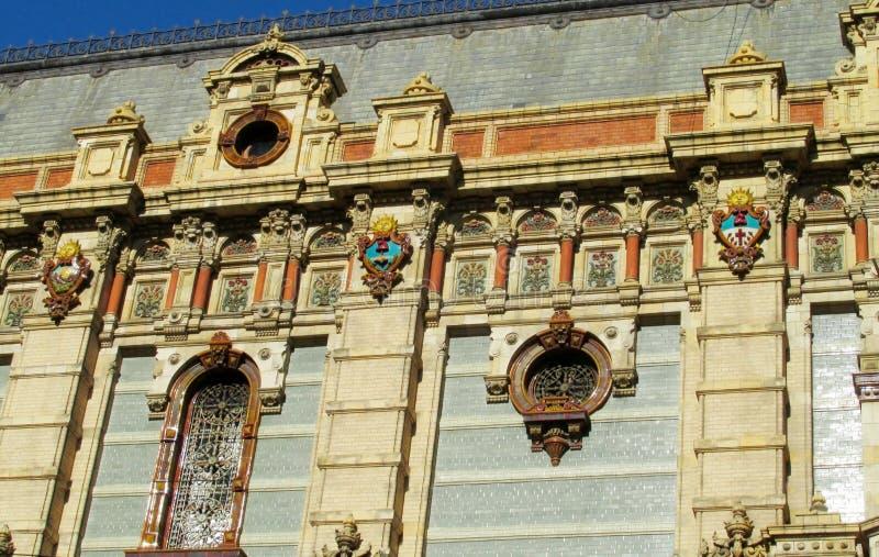Palacio DE Aguas Corrientes in Buenos aires royalty-vrije stock afbeeldingen