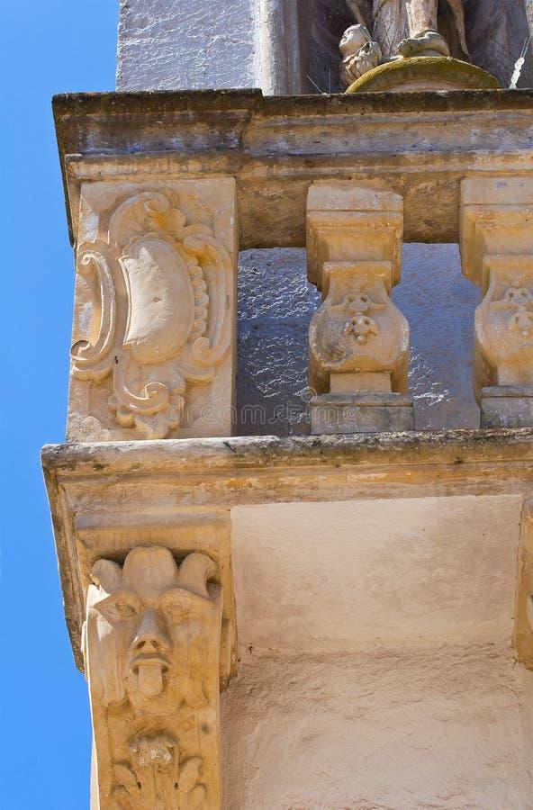 Palacio de Balsamo. Specchia. Puglia. Italia. imagen de archivo libre de regalías