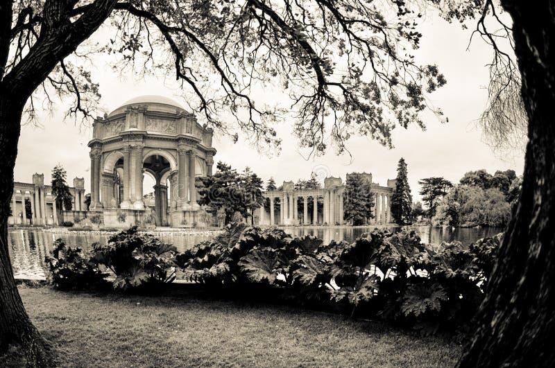 Palacio de bellas arte foto de archivo