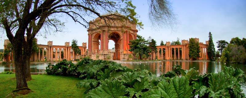 Palacio de bellas arte, distrito del puerto deportivo, San Francisco, California, imagen de archivo libre de regalías