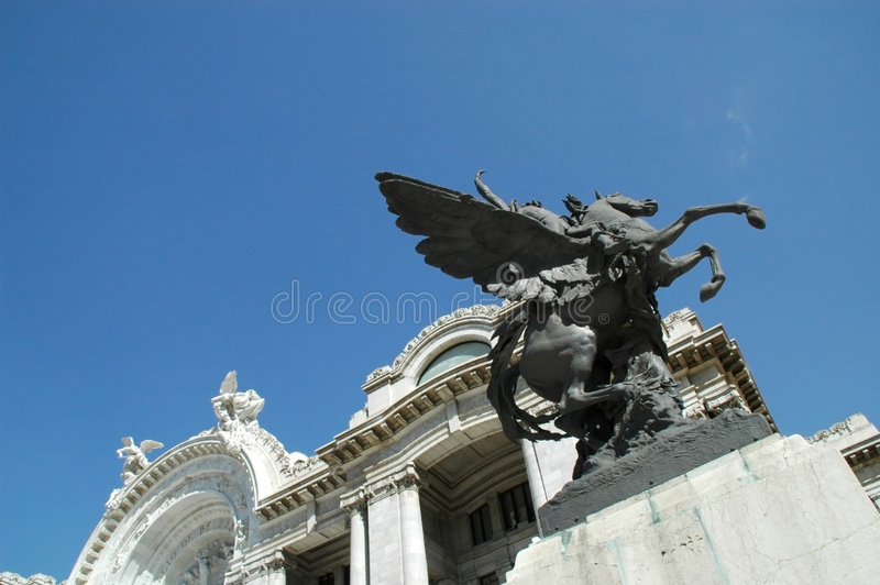 Palacio de Bellas Artes stock photography